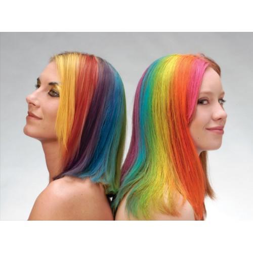 Спрей Fluo Hair Clour yellow