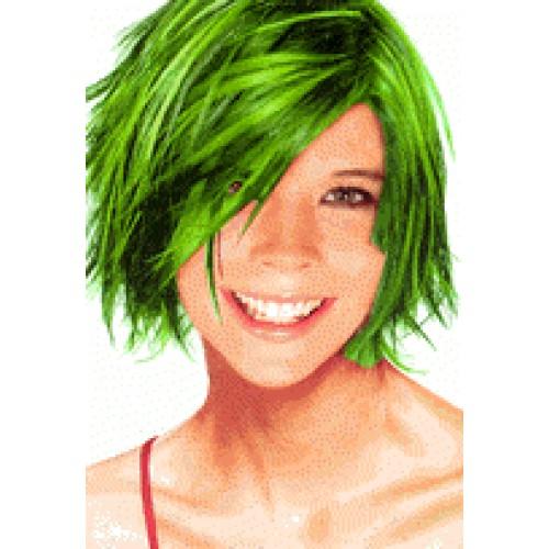Спрей Glitter Hair Colour green