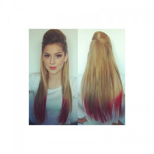 Спрей Fluo Hair Clour pink