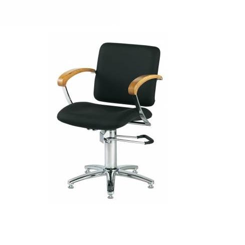 Кресло парикмахерское London черное, Comair